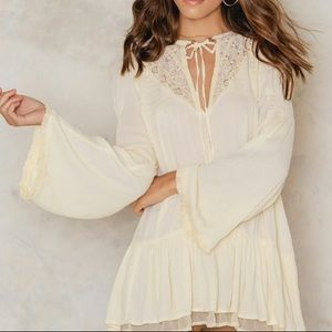 Free People | One Night Victorian Lace Tunic